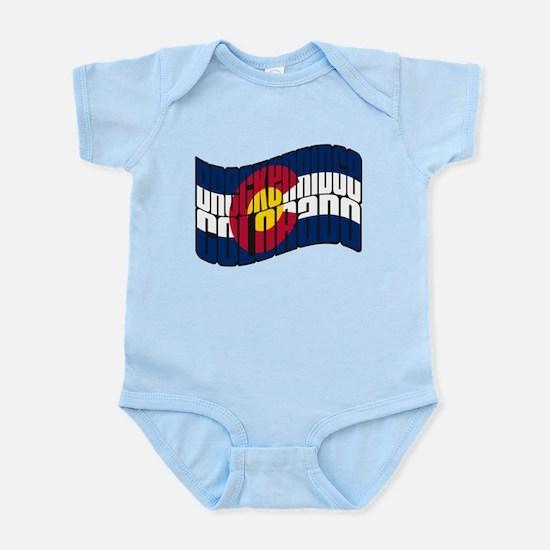 Breckenridge Colorado Flag Infant Bodysuit