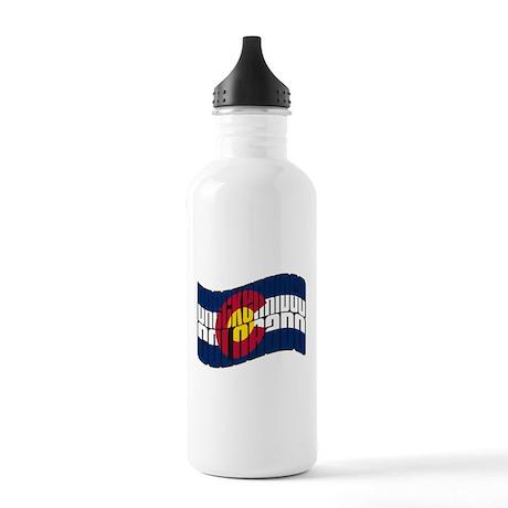 Breckenridge Colorado Flag Stainless Water Bottle
