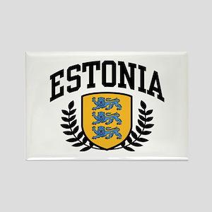 Estonia Rectangle Magnet