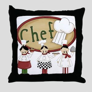 Italian Chefs Throw Pillow