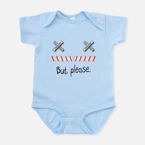Railroad Crossing Infant Bodysuit