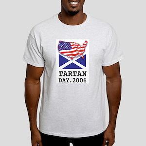 Tartan Day Ash Grey T-Shirt