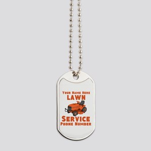 Lawn Service Dog Tags