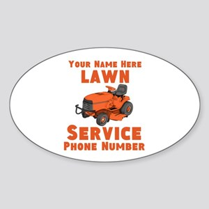 Lawn Service Sticker