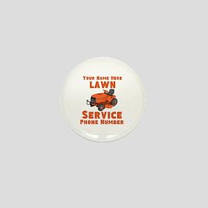 Lawn Service Mini Button