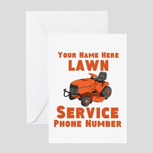 Lawn Service Greeting Cards