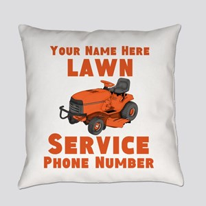 Lawn Service Everyday Pillow