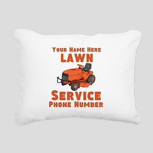 Lawn Service Rectangular Canvas Pillow