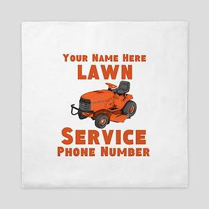 Lawn Service Queen Duvet