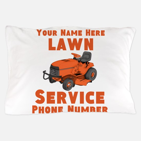 Lawn Service Pillow Case