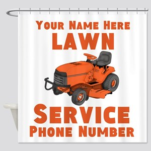 Lawn Service Shower Curtain