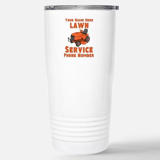 Lawn Service Travel Mug