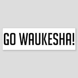 Go Waukesha! Bumper Sticker