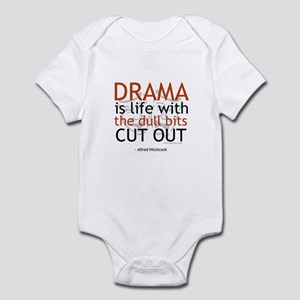 Alfred Hitchcock Drama Quote Infant Bodysuit