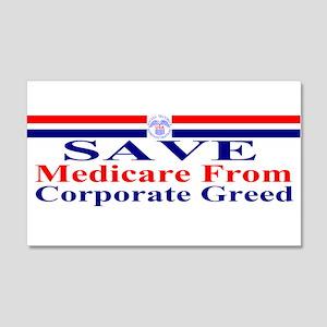 Save Medicare 22x14 Wall Peel
