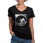 Gordon Gartrell 2 Women's V-Neck Dark T-Shirt