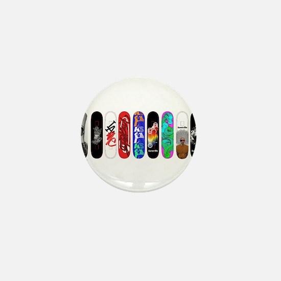Unique Skate Mini Button