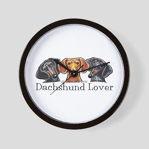 Dachshund Lover Wall Clock