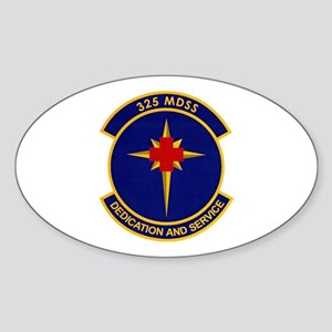 325th Medical Support Oval Sticker