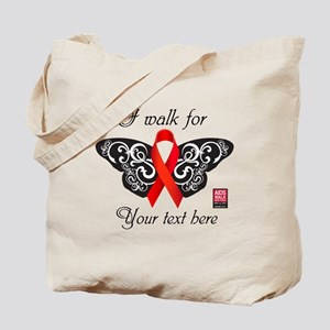 I Walk For Butterfly Tote Bag