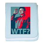 Kim Jong Il: WTF? baby blanket