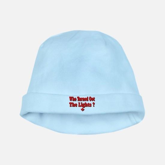 Afraid of the Dark? baby hat