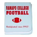 Ramapo Football baby blanket