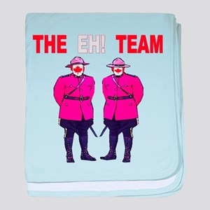 The Eh! Team baby blanket