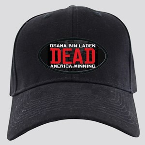 Osama Dead Black Cap