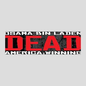Osama Dead 42x14 Wall Peel