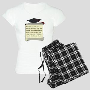 Class of 2011 Poem Women's Light Pajamas