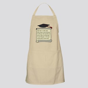 Class of 2011 Poem Apron