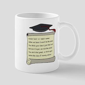 Class of 2011 Poem Mug