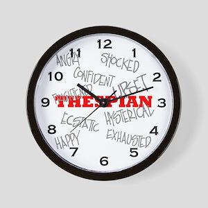 Thespian Wall Clock
