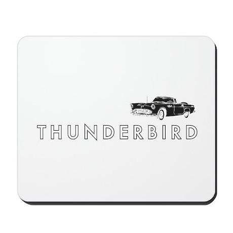 1955 Ford Thunderbird Mousepad