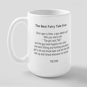 A Mans Fairy Tale Large Mug