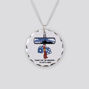 Thanks for the Memories Necklace Circle Charm
