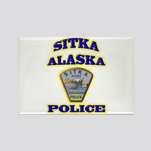 Sitka Police Department Rectangle Magnet
