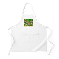 Folkorico Green Skirt BBQ Apron