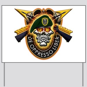 US Army Special Forces Yard Sign