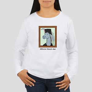 Official Smart Ass Women's Long Sleeve T-Shirt