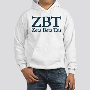 Zeta Beta Tau Fraternity Letter Hooded Sweatshirt