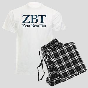 Zeta Beta Tau Fraternity Let Men's Light Pajamas