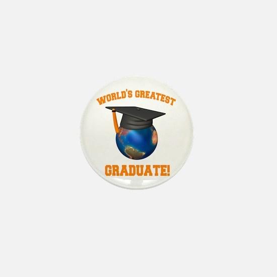 World's Greatest Graduate Mini Button