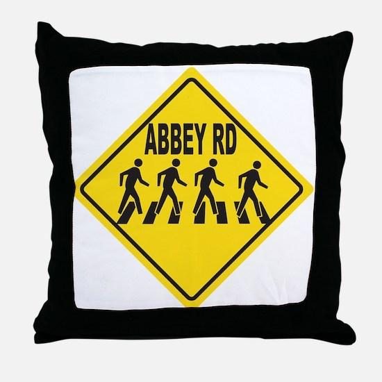Cute Abbey road Throw Pillow