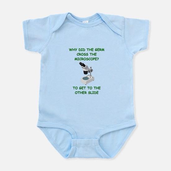 biology joke Infant Bodysuit