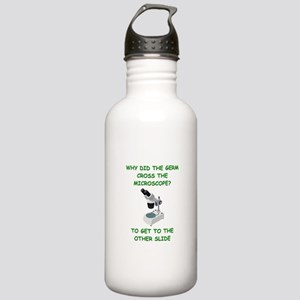 biology joke Stainless Water Bottle 1.0L