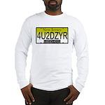 4U2DZYR NJ Vanity Plate Long Sleeve T-Shirt