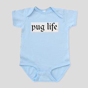 Pug Life Basic Infant Bodysuit