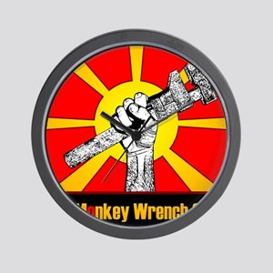 The Monkey Wrench Gang Wall Clock